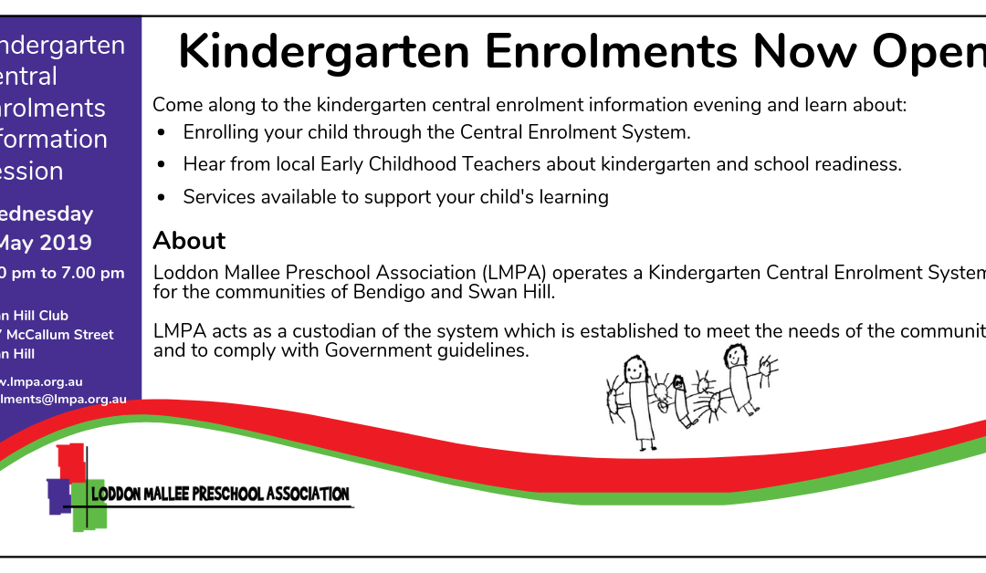 Swan Hill Kindergarten Central Enrolments Information Session